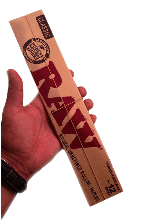 RAW CLASSIC 12INCH SUPERNATURAL ROLLING PAPERS - Outontrip