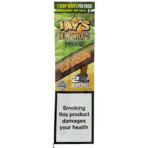 Juicy Jay Terpene Enhanced Wraps Blunt - Eldorado Flavor