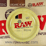 RAW ROUND ROLLING LONG METAL TRAY - Outontrip