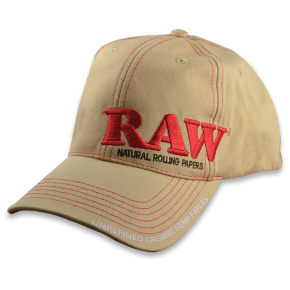 RAW Dope Poker Hat - Tan Color