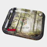 RAW Smoky Forest Rolling Tray - Large