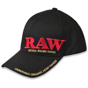 RAW Dope Poker Hat - Black Color
