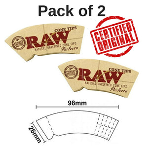 Raw cone perfecto tips/roach