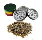 Raasta Metallic Herb Crusher/Grinder with Filter (50 mm) - Outontrip