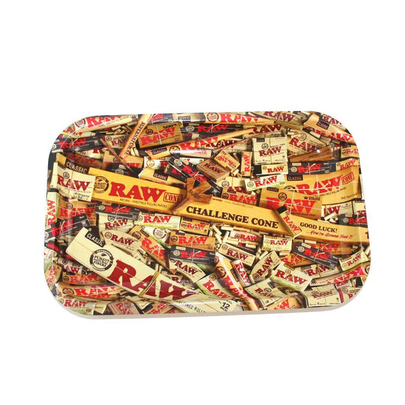 RAW MIX METAL ROLLING TRAY SMALL - Outontrip