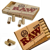RAW PREROLLED ROLLING paper FILTER TIPS/ROACH - Outontrip