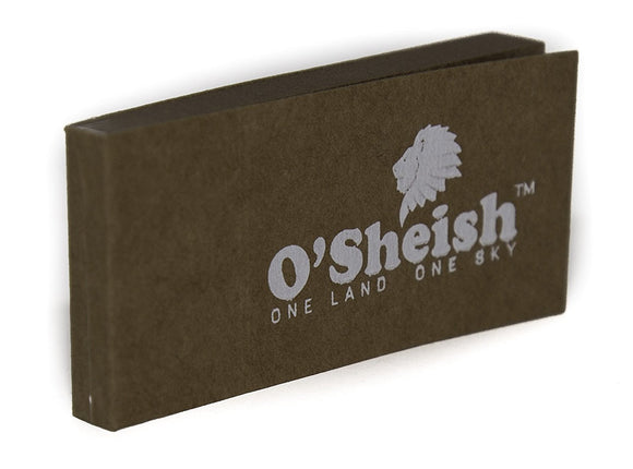 O'SHEISH ROLLING PAPER BROWN FILTER TIPS/ROACH PACK OF 10 OR 20 - Outontrip