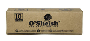 O'SHEISH ROLLING PAPER FILTER TIPS/ROACH PACK OF 10 OR 20 - Outontrip