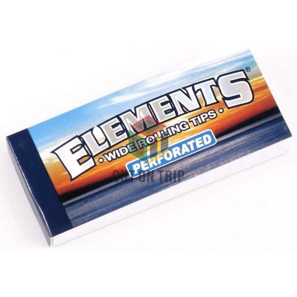 ELEMENTS Wide Perforated Filter Tips - Pack of 3 & 5