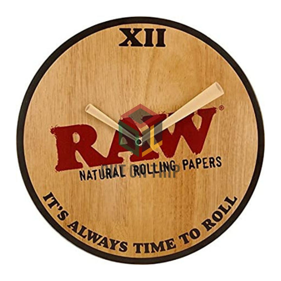 RAW Wooden Clock