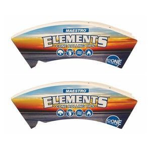 Elements Maestro Cone Filter Tips - 32 Tips
