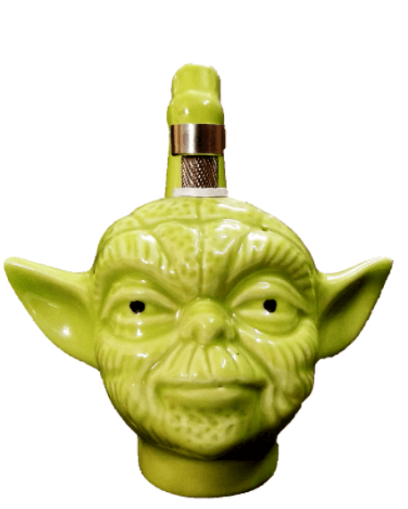 Jedi Master Yoda Assorted color Ceramic 6 inch Bong