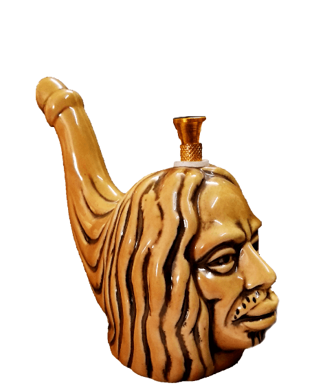 Bob Marley Assorted color 6 inch ceramic bong