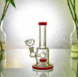 7 Inch Nano Can Beaker Glass Bong with Showerhead Percolator