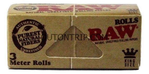 RAW CLASSIC ROLL 3meter ROLLING PAPER ROLL - Outontrip