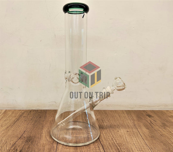 12 Inch Scientific Funnel Bong with Ice Catcher