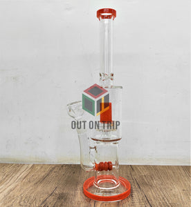 16 Inch Ice Catcher Bong with UFO and Inline Percolator