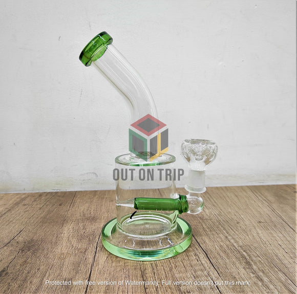 8 Inch Beaker Bong with Inline Percolator(Discontinued)