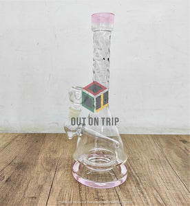 10 Inch Bong with Spiral Neck