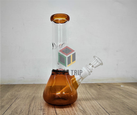 8 Ich Conical Flask Bong with UFO Percolator and Ice Catcher