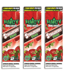 Juicy Jay Blunt Strawberry Fields (Cigar Rolling Paper) 2 Piece/Pack