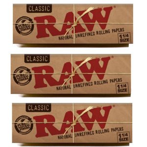 Raw Classic 1 1/4 Size 50 leaves rolling/smoking paper