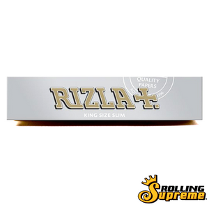 Original Rizla Silver King Size Slim 32 Leaves Rolling/Smoking Paper