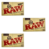 Raw Classic 1 1/4 size 300 leaves rolling/smoking paper