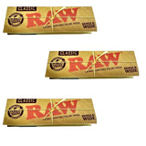 Raw Classic Single wide 50 leaves rolling/smoking paper