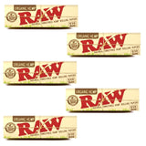 Raw Organic 1 1/4 size 50 Leaves Rolling/Smoking Paper