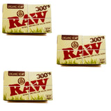 Raw Organic 1 1/4 size 300 leaves Rolling/Smoking Paper