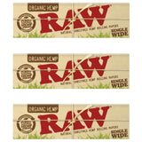 Raw Organic single wide size 50 leaves Rolling/Smoking Paper