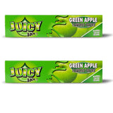 Juicy Jay Green apple king size slim 32 leaves rolling/smoking paper