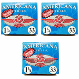 CHILLS AMERICANA 1 1/4 SIZE 33 LEAVES ROLLING/SMOKING PAPERS