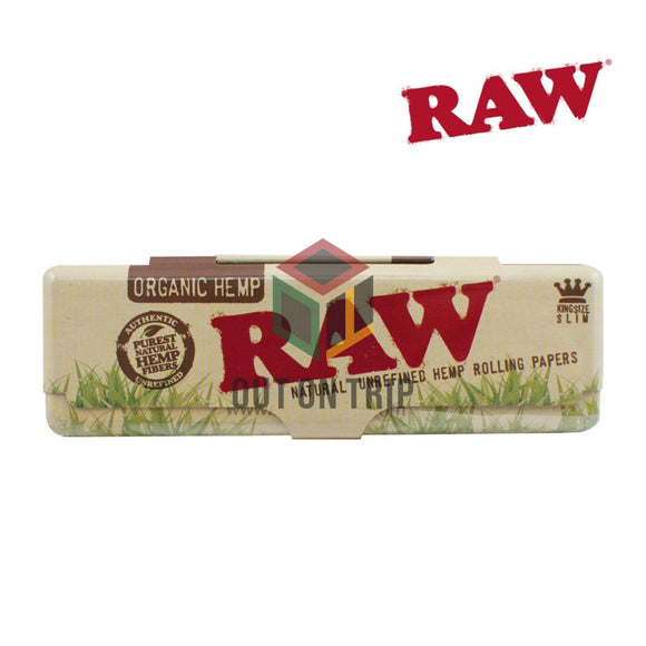RAW Organic Paper Case - King Size Rolling Paper Container