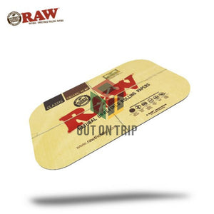 RAW Metal Rolling Tray Magnetic Cover - Large