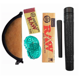 RAW Shiva Special 6-Inch Earthenware Assorted  Chillum Combo