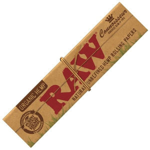 RAW Organic Connoisseur - King Size Rolling Papers with Tips