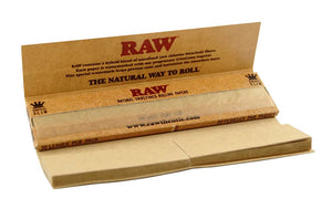 RAW CONNOISSEURS Rolling Papers with Tips - Outontrip