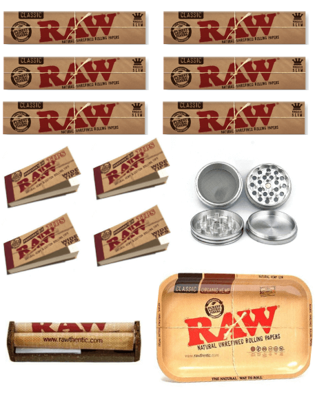 OutonTrip Complete Raw Brand Combo (Includes 13 Smoking accessories)