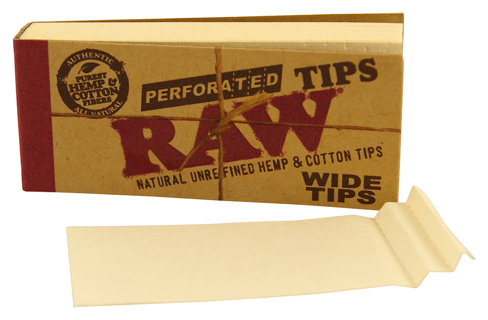 BOOK OF TIPS 5 x AUTHENTIC RAW TIPS UNBLEACHED ROACH RAW ROACHES ORIGINAL