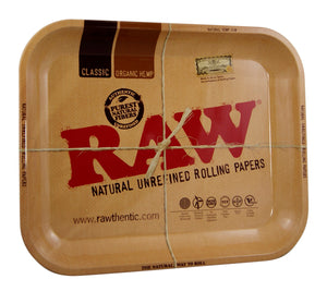 RAW METAL ROLLING TRAY MEDIUM - Outontrip