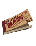 RAW Organic Rolling paper + Raw Wide Tips - Set of 6