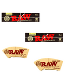 Raw Black Rolling Paper + Raw Perfecto cone tips - Set of 4