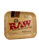 RAW Metal Rolling Tray with Magnetic Tray Cover - Medium