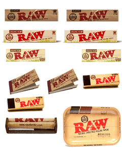 OutonTrip Bundle - 13 Items - RAW Rolling Paper (Roll Your Own) Cigarette Kit