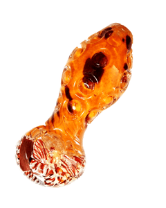 OutonTrip Assorted Asymmetric color glass spoon smoking pipe