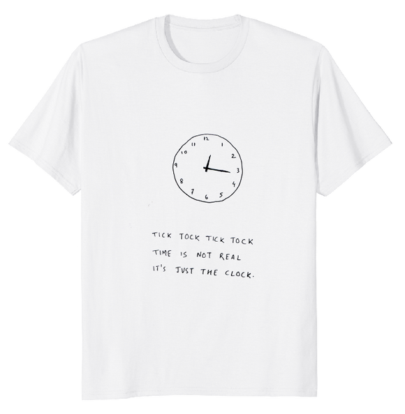 The Clock - 100% Cotton T-Shirt