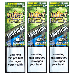 Juicy Hemp Wrap - Tropical Flavour