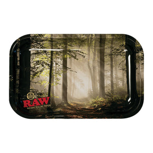 RAW Smoky Forest Rolling Tray - Small